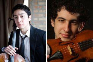 requiro-zorman.jpg David Requiro, left, and Itamar Zorman. (Courtesy of Erica Gannett)