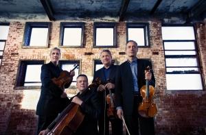 Emerson String Quartet 4 by Lisa Marie Mazzucco